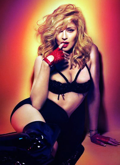 you dont get to be like this by wishing madonna