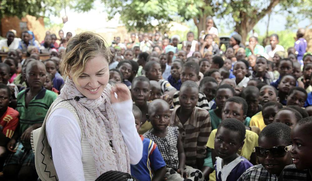 Madonna loves life