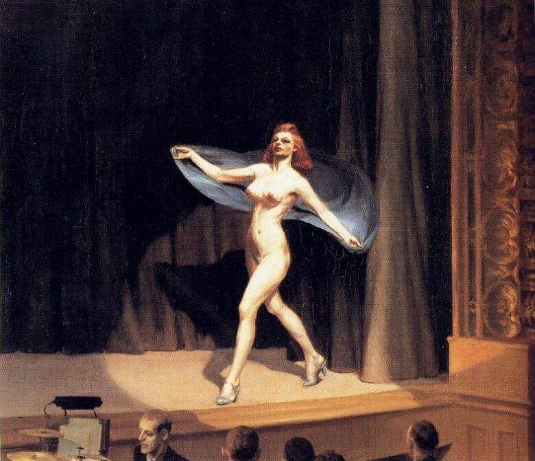 girlie-show-by-Edward-Hopper