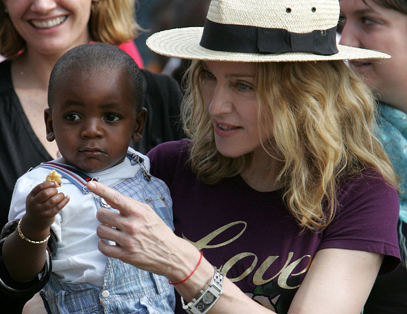 Madonna condemns sentence upon two gay men in Malawi